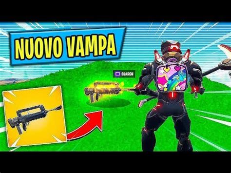 fortnite battle royale nuova patch nuovo vafucile in live proviamolo nuova patch 4 2