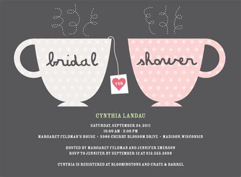 tea bridal shower