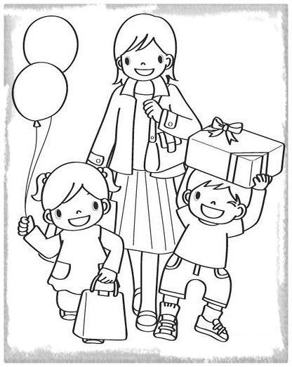 imagenes de la familia para iluminar imprimir dibujo de la familia para colorear imagenes de