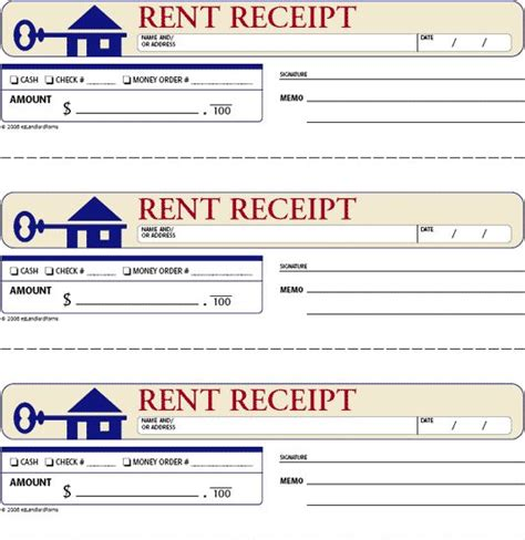 landlord rent receipt template free rent receipts for landlords rent receipt this