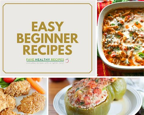 Easy Cooking 31 easy cooking recipes for beginners favehealthyrecipes