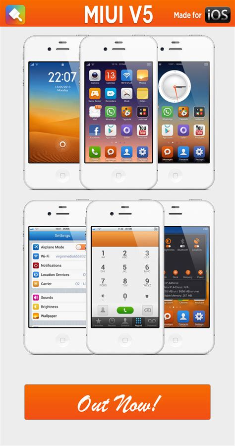 theme miui v5 anime miui v5 iphone by h4mza on deviantart
