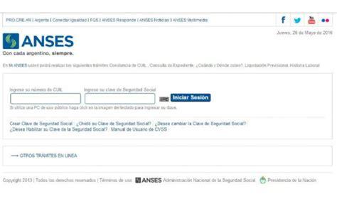 aportes jubilatorios 2016 anses ingresar a mi anses download pdf