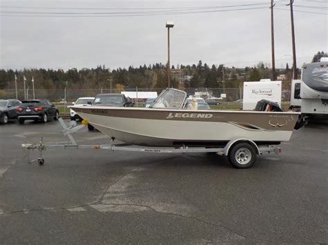legend boats merchandise repo 2007 legend excalibur 19 foot boat and trailer
