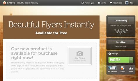 design flyer online for free create beautiful online flyers with smore for free web