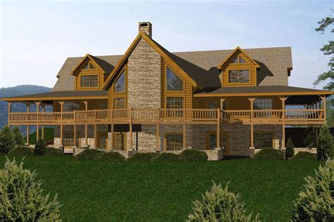 Open Floor Plan Log Homes by Newest Open Floor Plan Log Homes House Plan And Ottoman