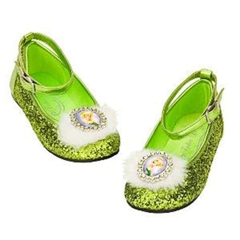 tinker bell slippers disney tinkerbell green costume dress up
