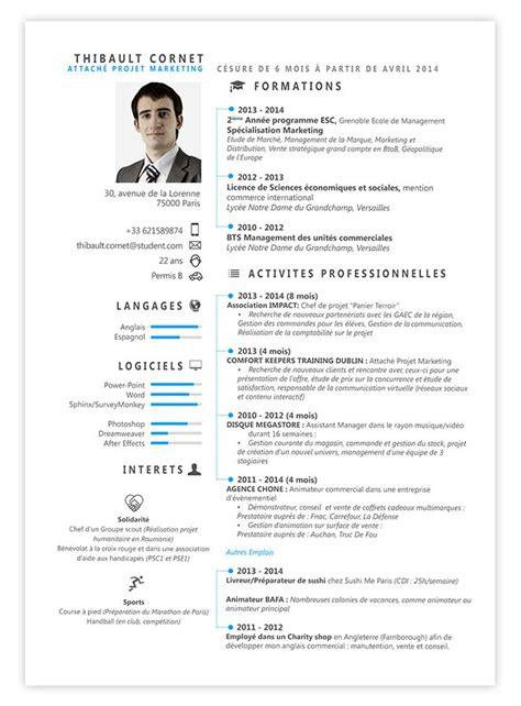 resume cv le wall street myprettycv resume cv pinterest