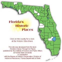 interactive florida map florida s history through its places social studies
