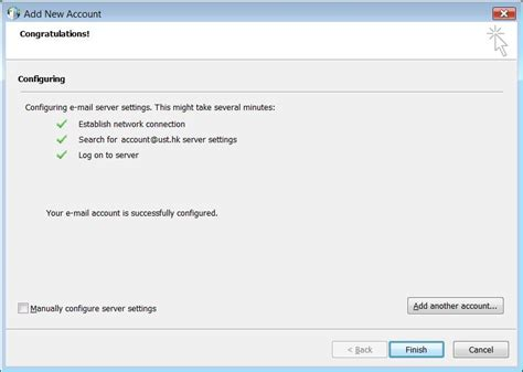 email exchange how to set up an exchange account in microsoft outlook