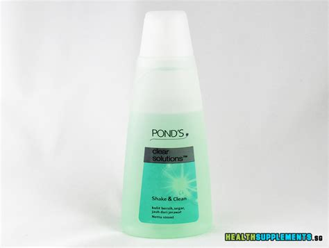 Toner Ponds pond s clear solutions cleanser and toner 2 in 1