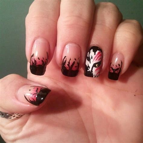 nail art anime tutorial 18 bleach anime nails 23 really cool manga nails all