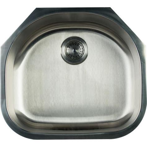 glacier bay stainless steel kitchen sink glacier bay undermount stainless steel 23 in single bowl