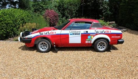 how to restore triumph tr7 8 enthusiast s restoration manual books jason lepley motorsport ex works triumph tr7 v8 rallycar