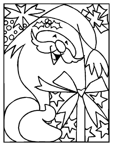 cute santa coloring pages free christmas coloring pages