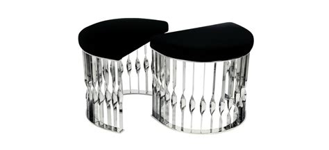 Stool In Pieces by Black And White Koket Goes Monochrome With Timeless Pieces