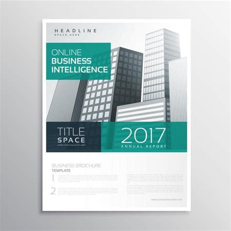 a4 brochure template company business brochure template design with buildings