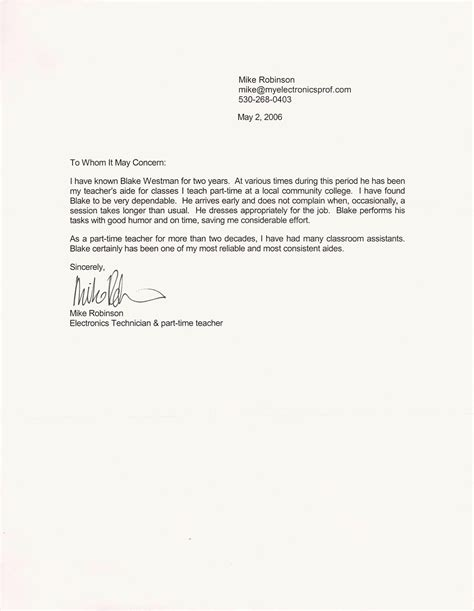resume reference letter sample recommendation letter for a friend