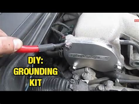 Ground Wire Kit Datsun Go how to install make a grounding kit altima maxima i35