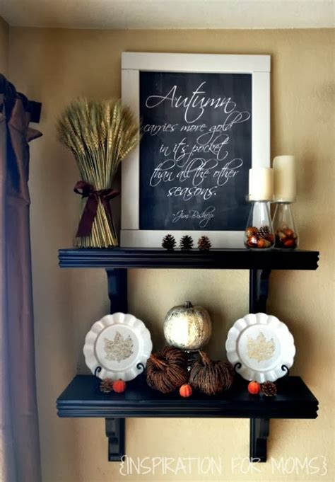 Fall Decor Inspiration For Your 15 Fall Mantel Decorating Ideas Two Purple Couches
