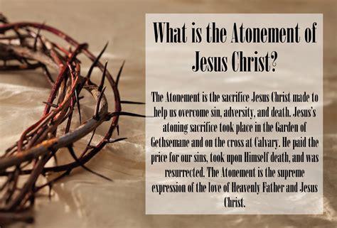 atonement  jesus christ  idea door