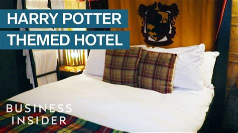 london hotel  secret harry potter themed
