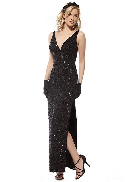 black beaded gown black gown dressed up