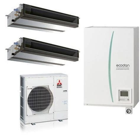 mitsubishi electric mr slim mitsubishi electric pompa di calore ecodan sistema ibrido
