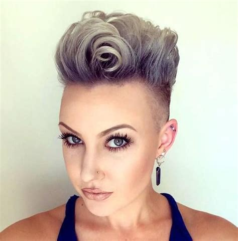 old lady mohawk 25 exquisite curly mohawk hairstyles for girls and women