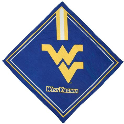 wvu colors west virginia mountaineers color handkerchief
