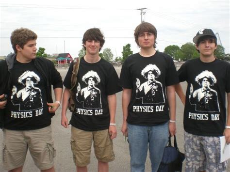 Custom T Shirts For Physics Day 2009 At Cedar Point