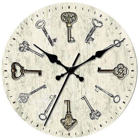 decorative wall clocks battery operated threshold wall clock with antique 14 liked on