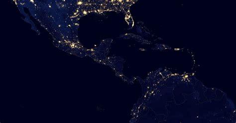 imagenes sorprendentes desde el espacio 191 c 243 mo se ve la tierra por la noche desde el espacio