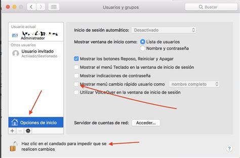 cambiar barra superior mac poner o quitar tu nombre de usuario en la barra de men 250 en