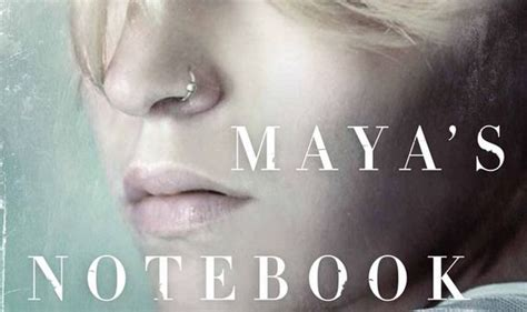 mayas notebook book review maya s notebook books entertainment express co uk