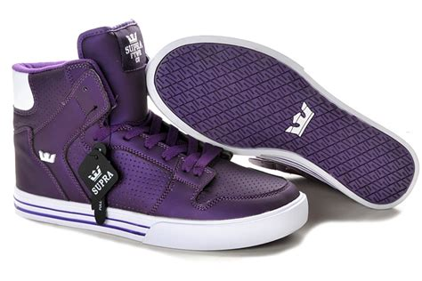 supra skytop ii shoes in white rainbowwhitesupra society blacklargest collection p 417 all supra shoes supra vaider high top purple white shoes