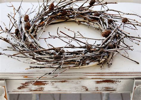 how to make a wreath from branches twig wreath infarrantly creative