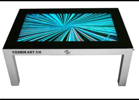 multitouch side tables the cosmikart digital coffee table
