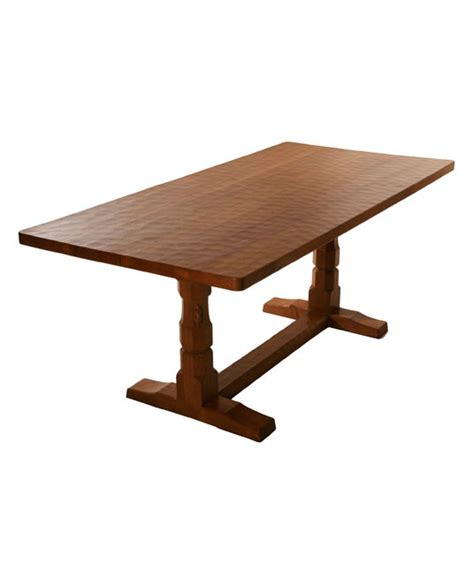 Oak Refectory Dining Table Solid Oak Refectory Dining Table Ta050 Shop