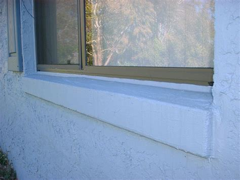 Where Can I Buy A Window Sill Replacement Of Window Sill On Block Exterior Wall Kurt S