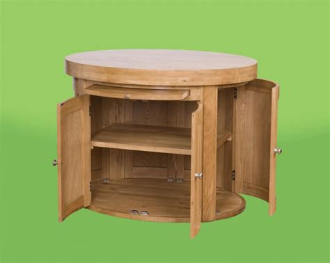 Free Standing Kitchen Island Round Free Standing Kitchen Island With Brilliant Cabinet