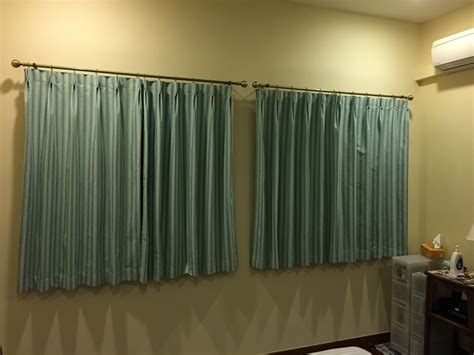 temporary curtain rods temporary curtain rods pictures to pin on pinterest