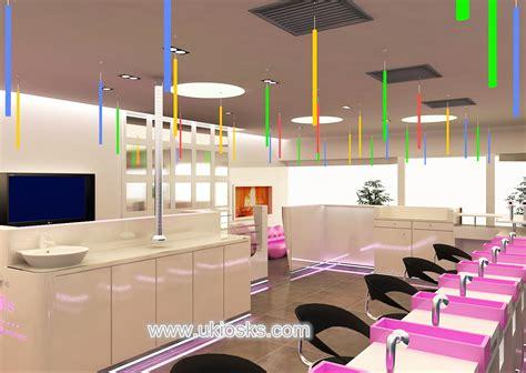 elegant beauty salon furniture  nail bar  uk