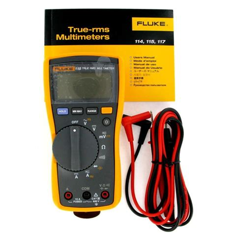 Multimeter Fluke 115 fluke 115 true rms digital multimeter ebay