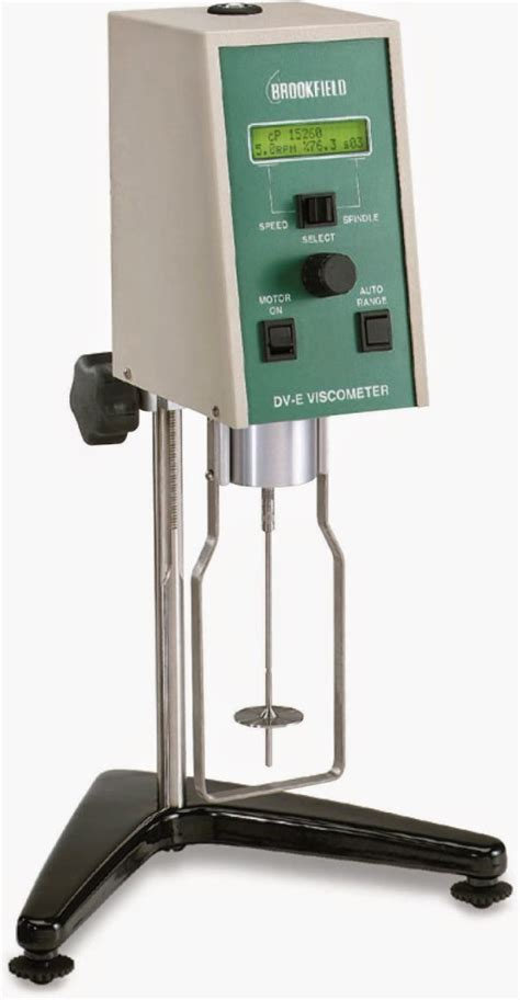 brookfield viscometer dv e series jual alat laboratorium harga alat lab