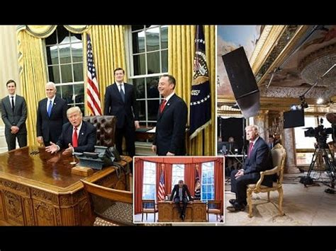 trump changes to oval office youtube linkis com