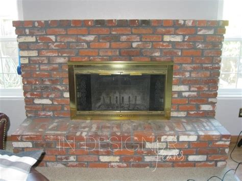 Fireplace Makeover Before And After by Fireplace Makeover Before And After
