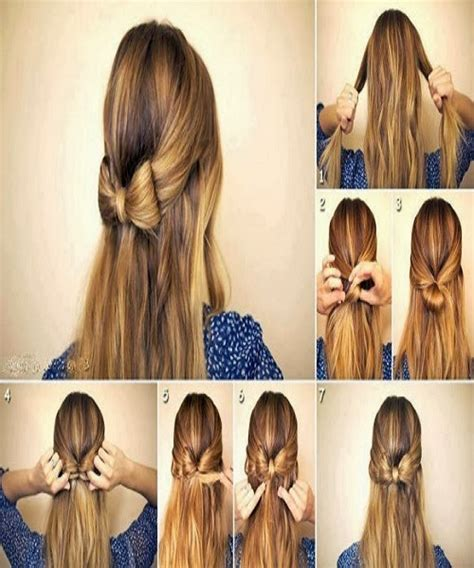 hair style easy in pakistani new best quick and simple hair style pics tutorial part 2