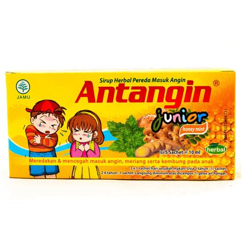 free shipping syrup 10ml x 5 pcs antangin junior with