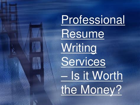 Are Professional Resume Services Worth It Resume Services Resume Format Download Pdf